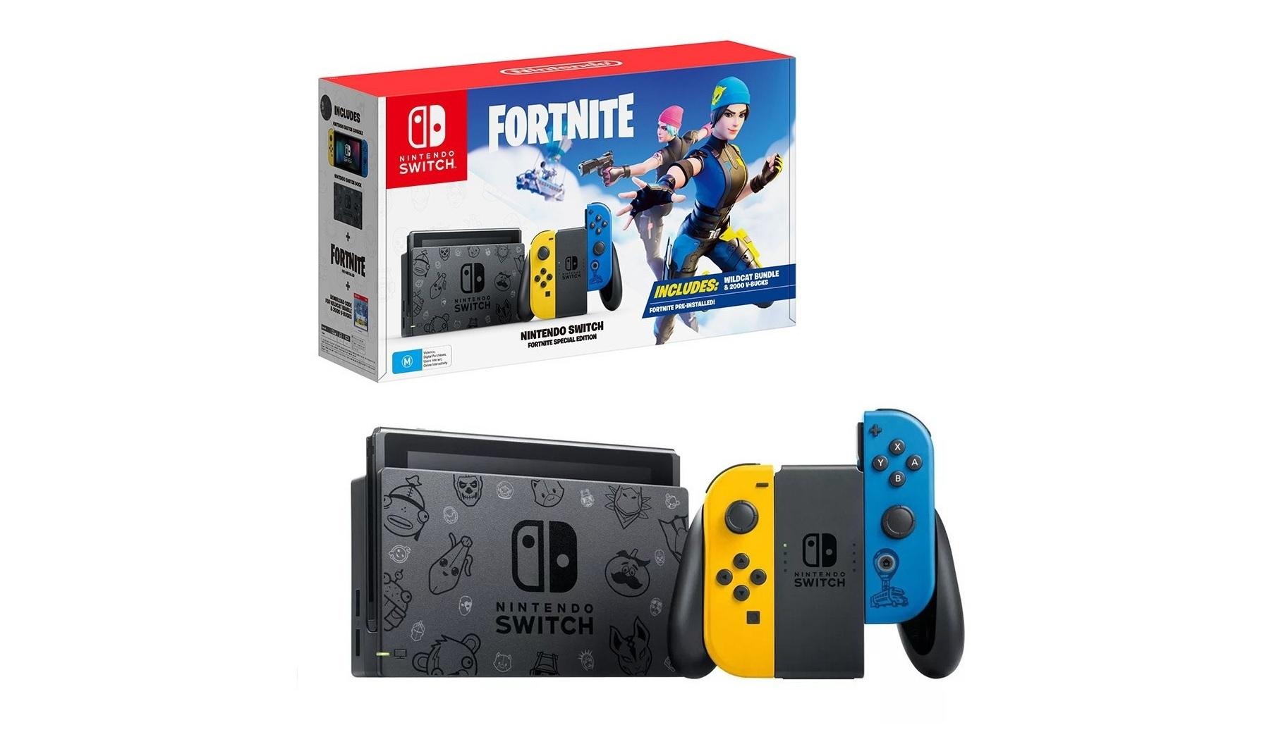 Fortnite And Switch Nintendo Switch Fortnite Wildcat Bundle Treasure Island Group Turkey Jordan Morocco Kenya
